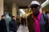 Dennis Rodman has arrived in North Korea along with a team for a match marking leader Kim Jong-un's birthday