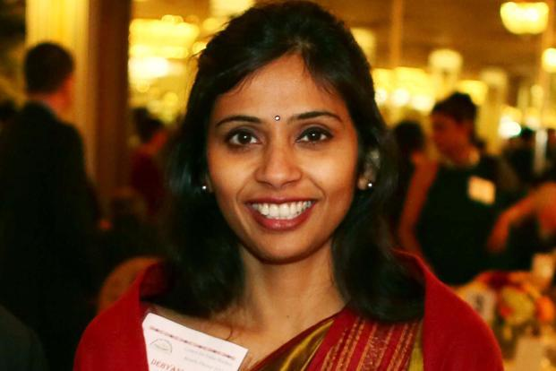 Devyani Khobragade was detained on charges of visa fraud and of underpaying her housekeeper in New York photo