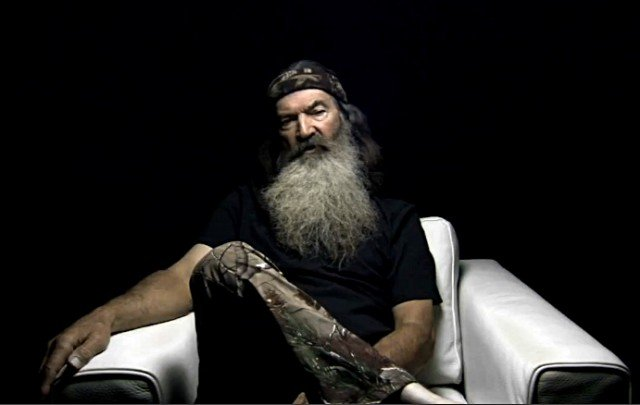 Duck Dynasty's Phil Robertson revealed he might have faith in something a bit more supernatural 640x405 photo