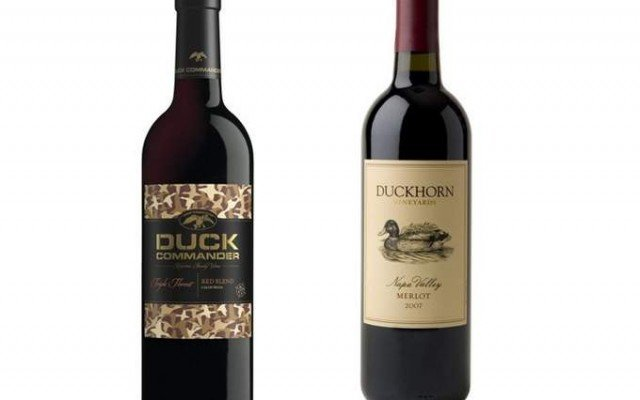 Duckhorn Wine Company has filed a trademark lawsuit against Duck Commander wines