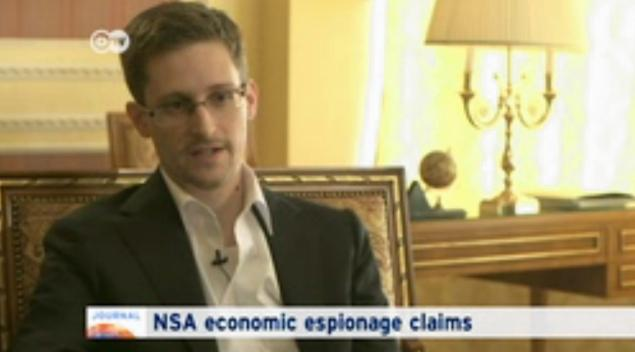 Edward Snowden has alleged the NSA engaged in industrial espionage
