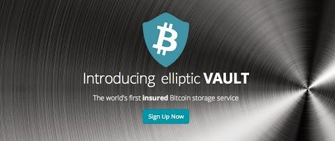 "Elliptic Vault uses ""deep cold storage"", where private encrypted keys to Bitcoins are stored on offline servers and in a secure location"