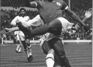 Eusebio was top scorer at the 1966 World Cup