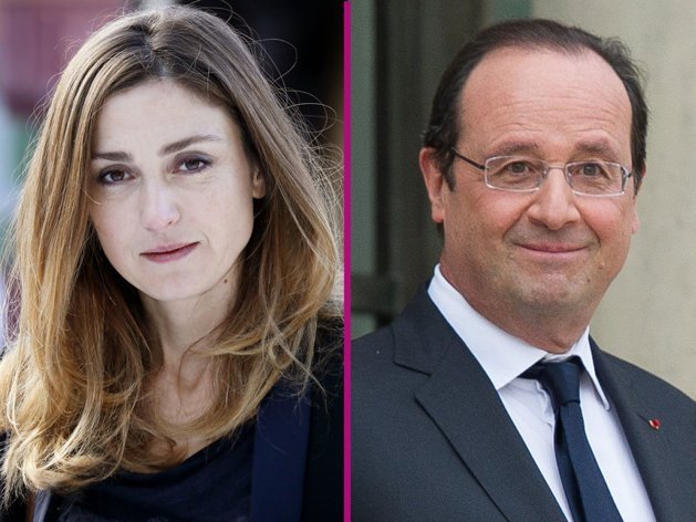 Francois Hollande has not denied a report that he is having a relationship with actress Julie Gayet photo