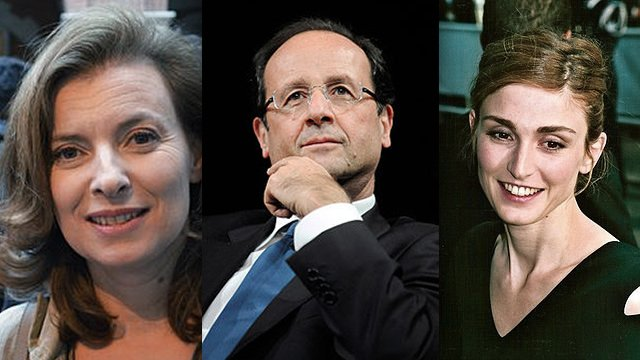Francois Hollande has said he is experiencing a difficult moment in his private life following claims of an affair with Julie Gayet