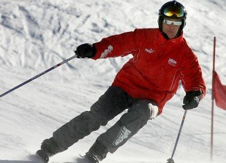 French investigators are examining a camera which had been fixed to Michael Schumacher's ski helmet