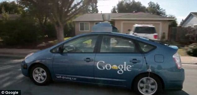 Google says, in future, customers could be driven to restaurants, bars, shops and venues by driverless cars
