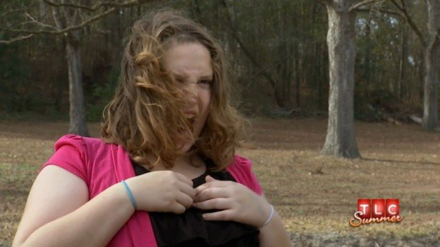 Honey Boo Boo's sister Pumpkin has been hospitalized following a car crash last week