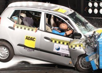 India Hyundai i10 scores zero stars in Global NCAP crash tests