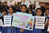 India is marking three years since its last reported polio case