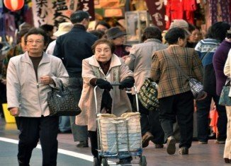 Japan's population declined by a record 244,000 people in 2013