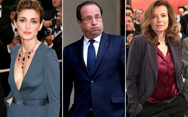 Julie Gayet, the actress who is believed to be having an affair with Fance's President Francois Hollande, is reported to be four-month pregnant