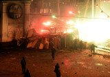 Kiev clashes are continuing between police and anti-government protesters