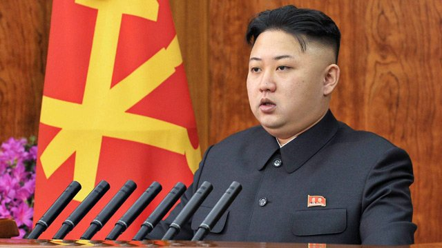 Kim Jong un made his first public reference to the execution of Jang Sung taek in his New Year message photo