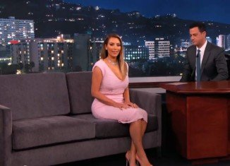 Kim Kardashian made an appearance on Jimmy Kimmel Live this week and shared her wedding plans with fiancé Kanye West