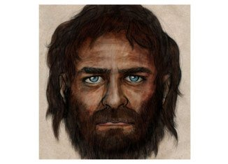 La Braña 1 ancient man had dark skin and blue eyes