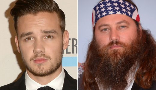 "Liam Payne tweeted Willie Robertson in praise of his ""family values"" and to inform him he was a fan of his business prowess and of the Duck Dynasty reality show"