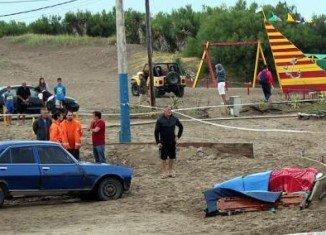 Lightning strike killed three people on Villa Gesell beach in Argentina