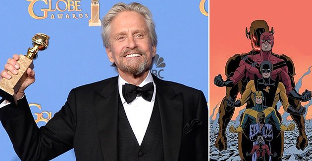 Michael Douglas will star as Hank Pym in the upcoming Marvel superhero film Ant Man photo