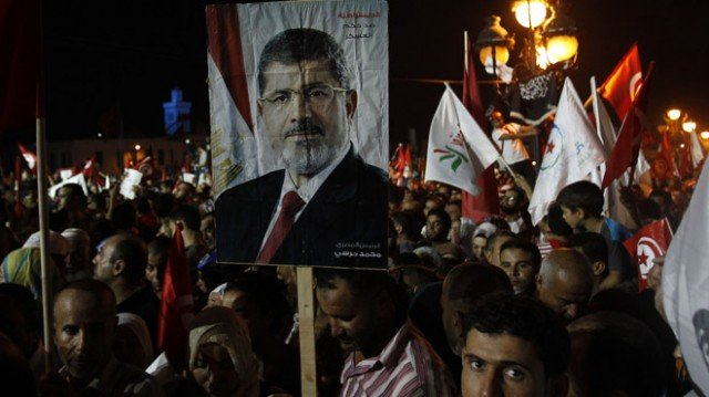 Mohamed Morsi's supporters have held regular protests calling for his reinstatement 640x359 photo