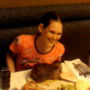 Molly Schuyler eats 72oz steak in 2 minutes and 44 seconds