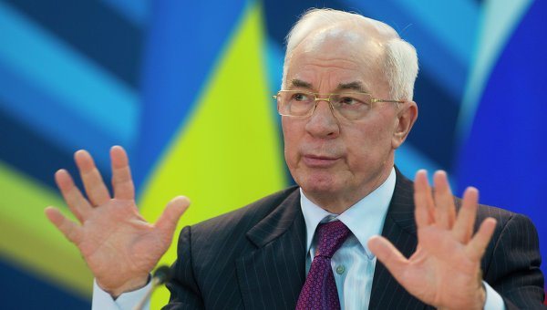 Mykola Azarov said his resignation was designed to create social and political compromise