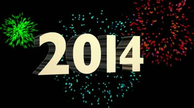 New Year celebrations took place around the world to mark the start of 2014