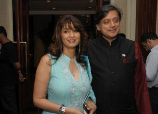Shashi Tharoor and Sunanda Pushkar became embroiled in a row last week after Twitter messages suggested he was having an affair with Pakistani journalist Mehr Tarar