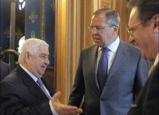 Speaking in Moscow, Walid Muallem said he had presented a ceasefire plan for the second city Aleppo to his Russian counterpart, Sergey Lavrov