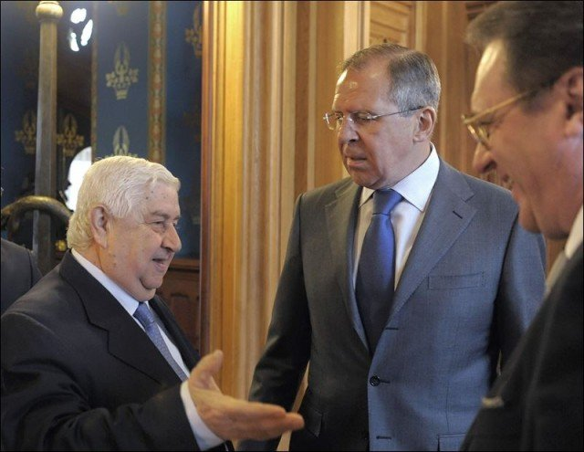 Speaking in Moscow Walid Muallem said he had presented a ceasefire plan for the second city Aleppo to his Russian counterpart Sergey Lavrov 640x495 photo