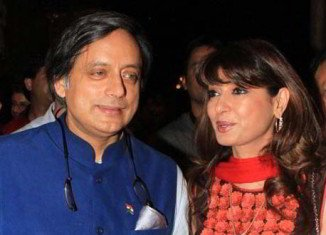 Sunanda Pushkar and Shashi Tharoor caused a media stir on Twitter on Wednesday with a series of messages appearing to reveal he was having an affair