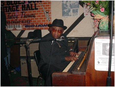Tabby Thomas is best known for his Louisiana-style blues, a hard-driving blues influenced by the Chicago bands