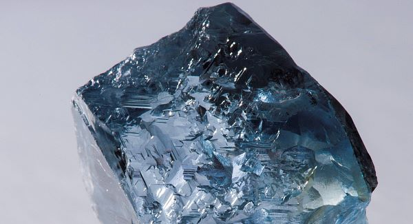 The 29.6-carat blue diamond has been discovered at Cullinan mine in South Africa