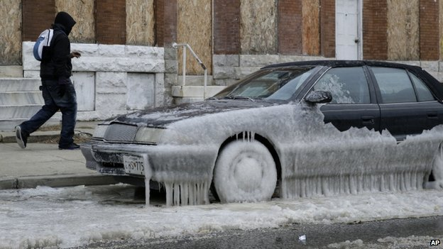 The polar vortex that has left people in North America shivering for days is loosening its icy grip