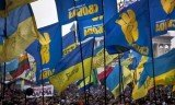 Thousands of Ukrainians have rallied in Kiev in the first anti-government protest of 2014