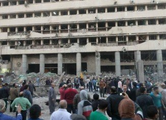 Three blasts that appeared to target the police force have killed 5 people in Cairo