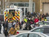 Two people have been shot dead at a shopping centre in Maryland