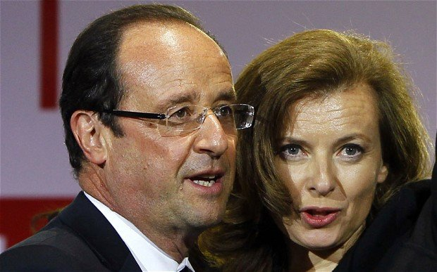 Valerie Trierweiler went to hospital shortly after Closer magazine alleged Francois Hollande was having an affair with Julie Gayet
