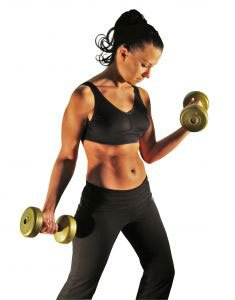Women who lift weights in the gym cut their risk of developing diabetes photo