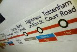 London Underground funny fake signs