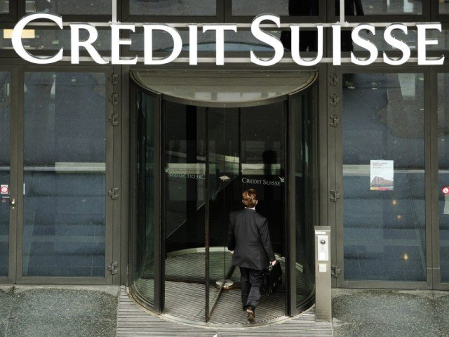 "A US congressional committee report found that Credit Suisse ""helped its US customers conceal their Swiss accounts"" and avoid billions of dollars in American taxes"