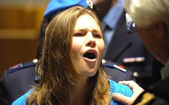 Amanda Knox was the focus of intense media scrutiny from the start of the highly publicized Meredith Kercher's murder trial in 2009