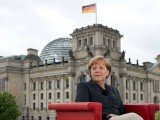 Angela Merkel has proposed the creation of a European communications network to help improve data protection
