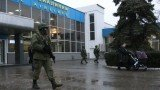 Armed men took over Simferopol airport in Crimea on Friday morning
