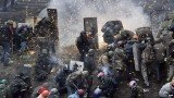 At least 21 anti-government protesters died in clashes in Kiev on Thursday