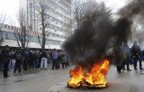 Bosnia-Herzegovina protesters have set fire to government buildings as violent protests continue across the country for a third day