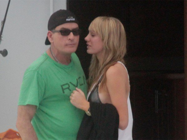 "Charlie Sheen's fiancée Brett Rossi said ""yes"" to the actor's marriage proposal over the weekend, but she is already married"