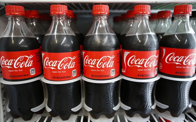 Coca-Cola shares saw their biggest fall in two years after the company's profit fell due to slowing sales in the US and Europe