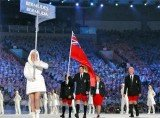 Despite temperatures below 40 F, Team Bermuda made its appearance at Sochi Winter Games Opening Ceremony rocking the namesake