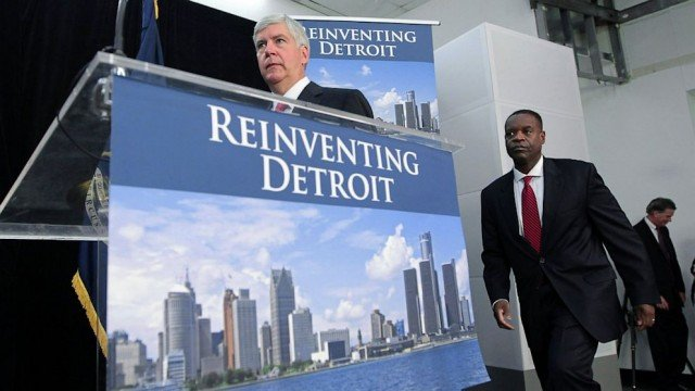Detroit's state-appointed emergency manager has filed a plan to restructure the city's debts